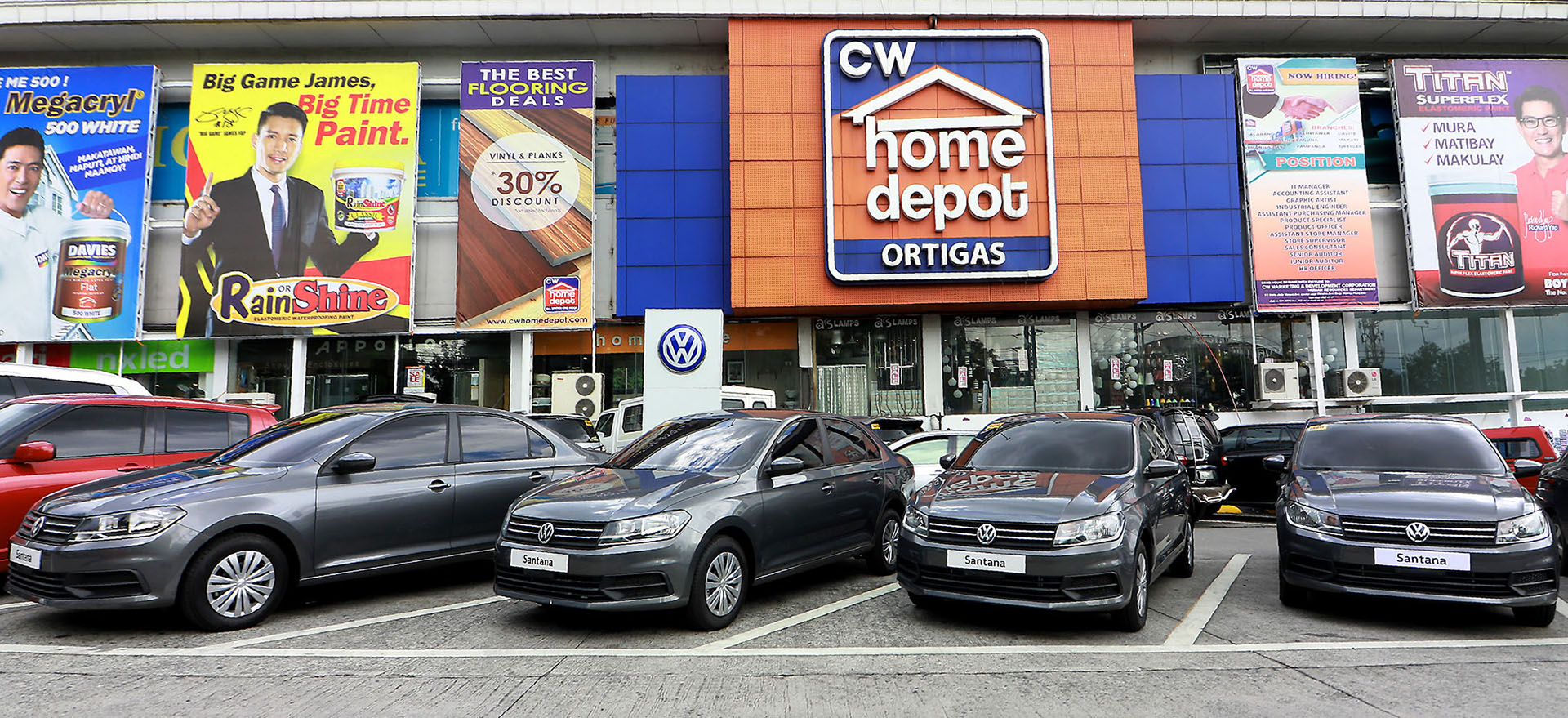 Volkswagen Philippines Turns Over Santana Subcompact Sedans To Cw Home Depot Go Flat Out Ph