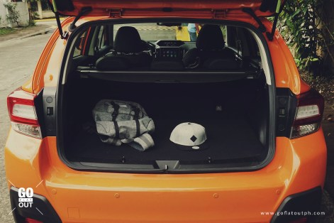 2018 Subaru XV 2.0i-S EyeSight Trunk Space