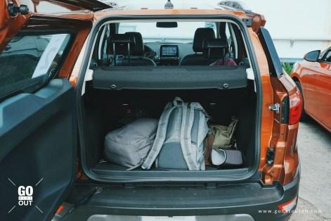 2019 Ford EcoSport Titanium EcoBoost Trunk Space
