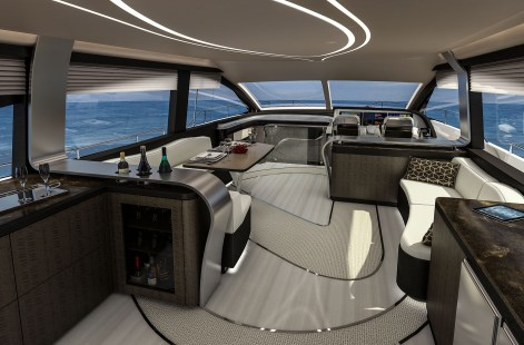 LY 650 Lexus Yacht Salon Image 2