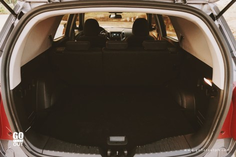 2018 SsangYong Tivoli XLV ELX 4WD Trunk Space