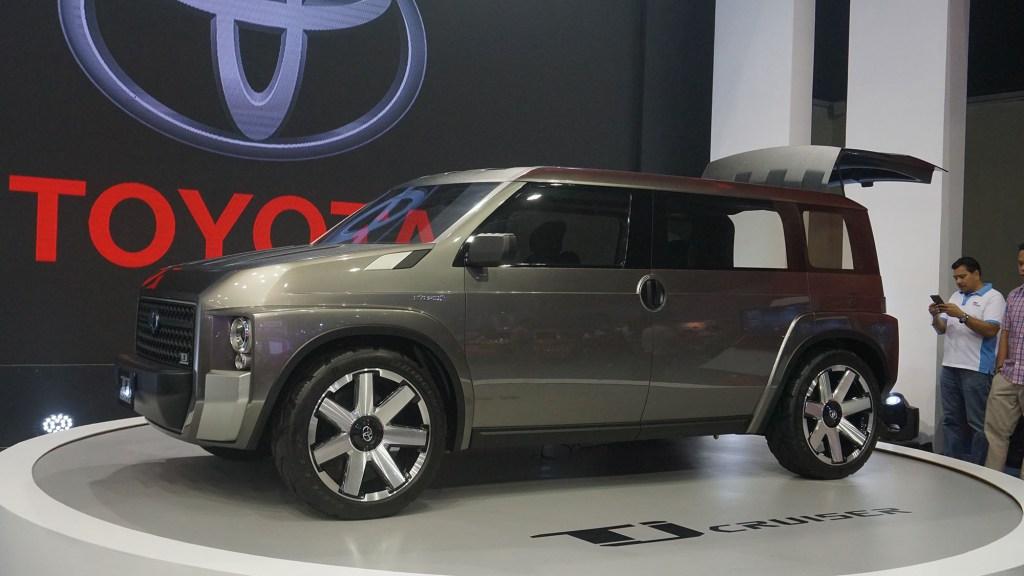 Toyota TJ Cruiser Concept Exterior