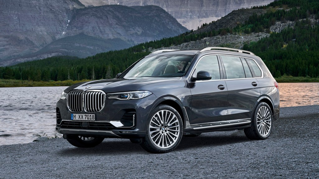 BMW X7 Unveiled