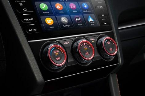 2019 Subaru WRX STI Interior