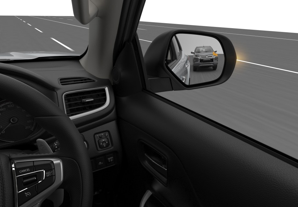 2019 Mitsubishi Triton Blind Spot Warning