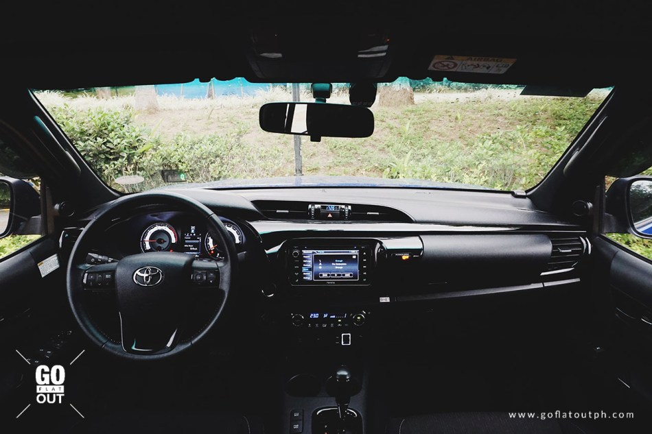2018 Toyota Hilux Conquest Interior