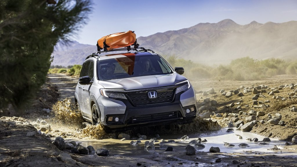2019 Honda Passport Launch