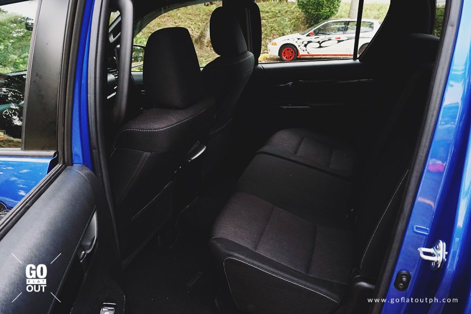 2018 Toyota Hilux Conquest Rear Seats