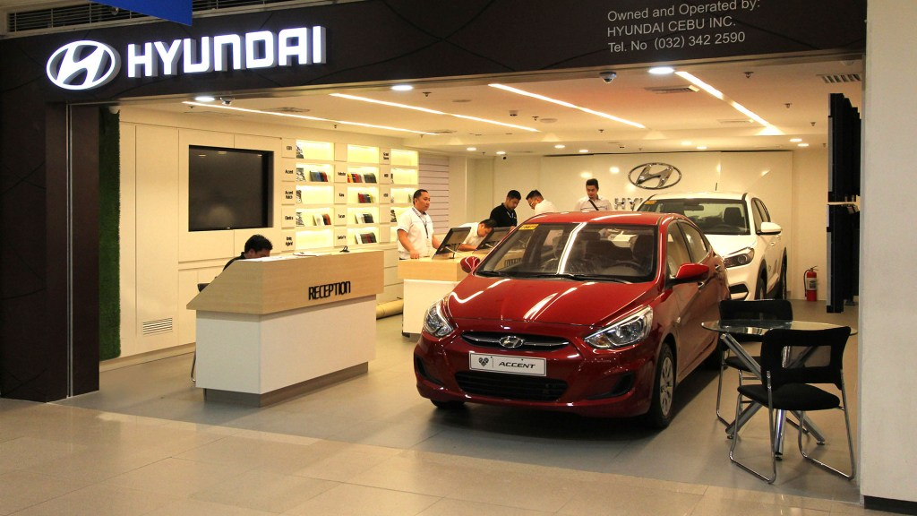 Hyundai City Store Cebu Is A Highly Digital Car Dealership Inside A Mall