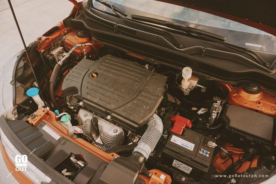 2018 Suzuki Vitara GLX Engine