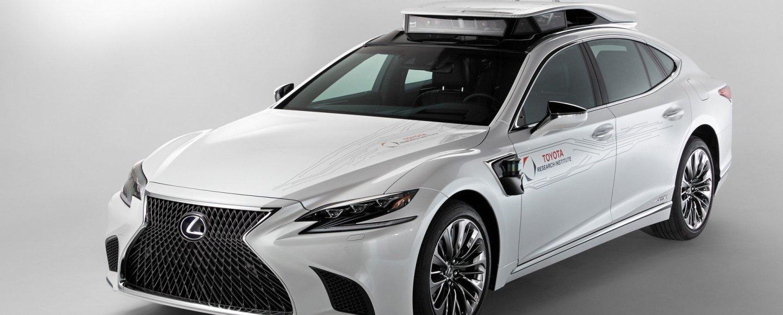 Toyota Research Institute P4 2019 CES