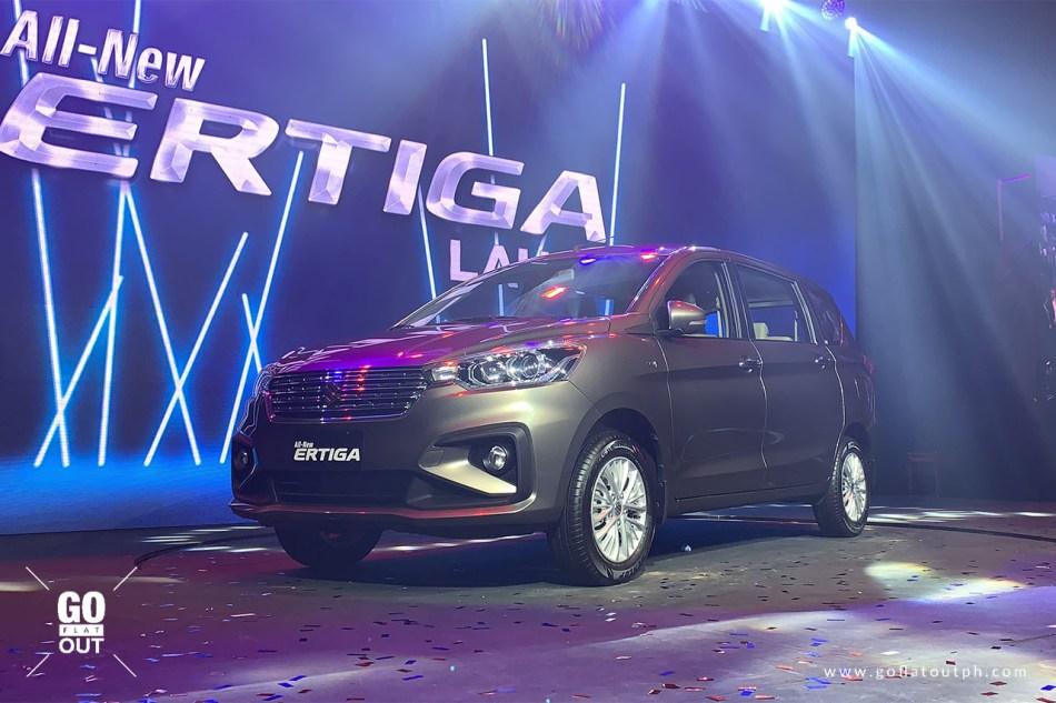 2019 Suzuki Ertiga Exterior