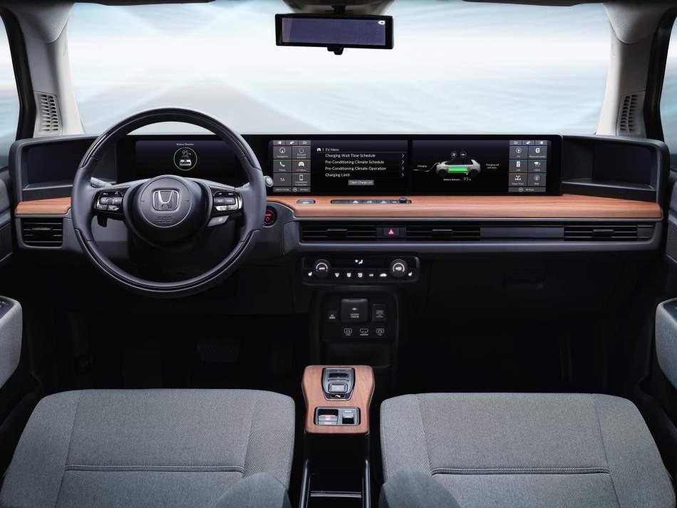 2020 Honda e Prototype Interior