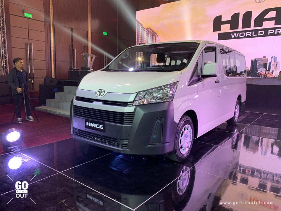 2020 Toyota Hiace Commuter Deluxe Exterior