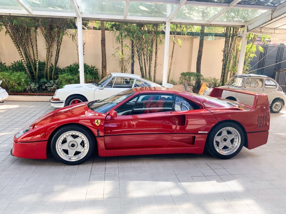 Here's Your Rare Opportunity To See The Iconic Ferrari F40 In The Philippines