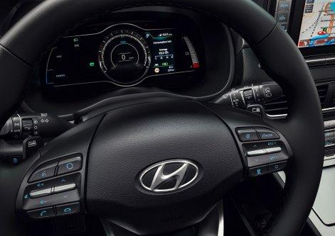 2019 Hyundai Kona Electric Interior