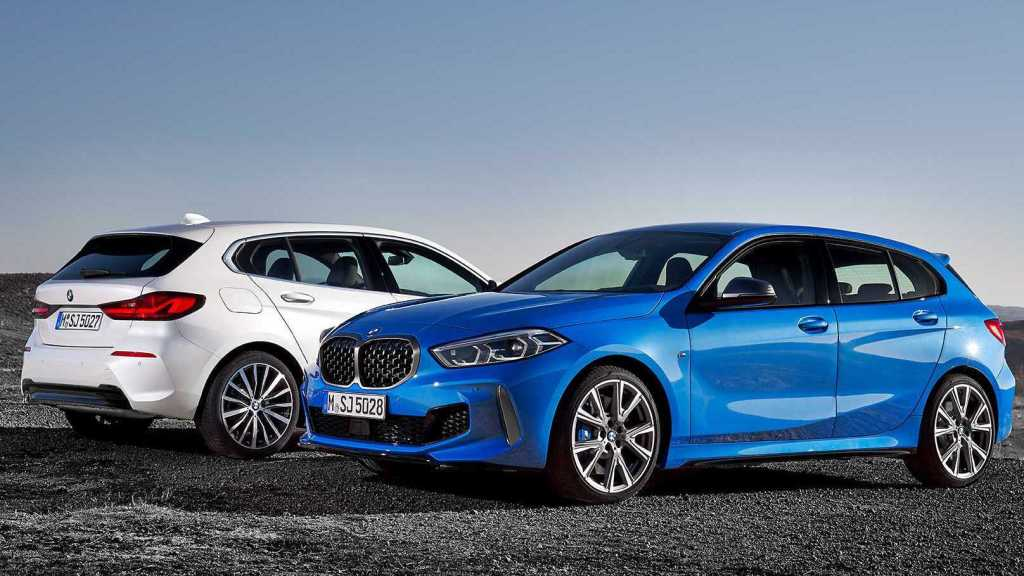 All-New BMW 1 Series Is Rear-Wheel-Drive No More