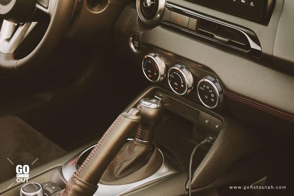 2019 Mazda MX-5 RF Club Edition Interior