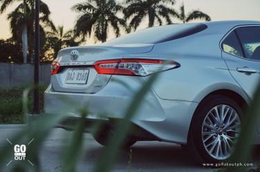 2019 Toyota Camry 2.5 V Exterior