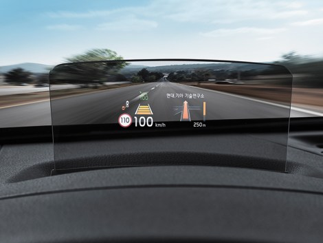 2020 Kia Seltos Head-Up Display