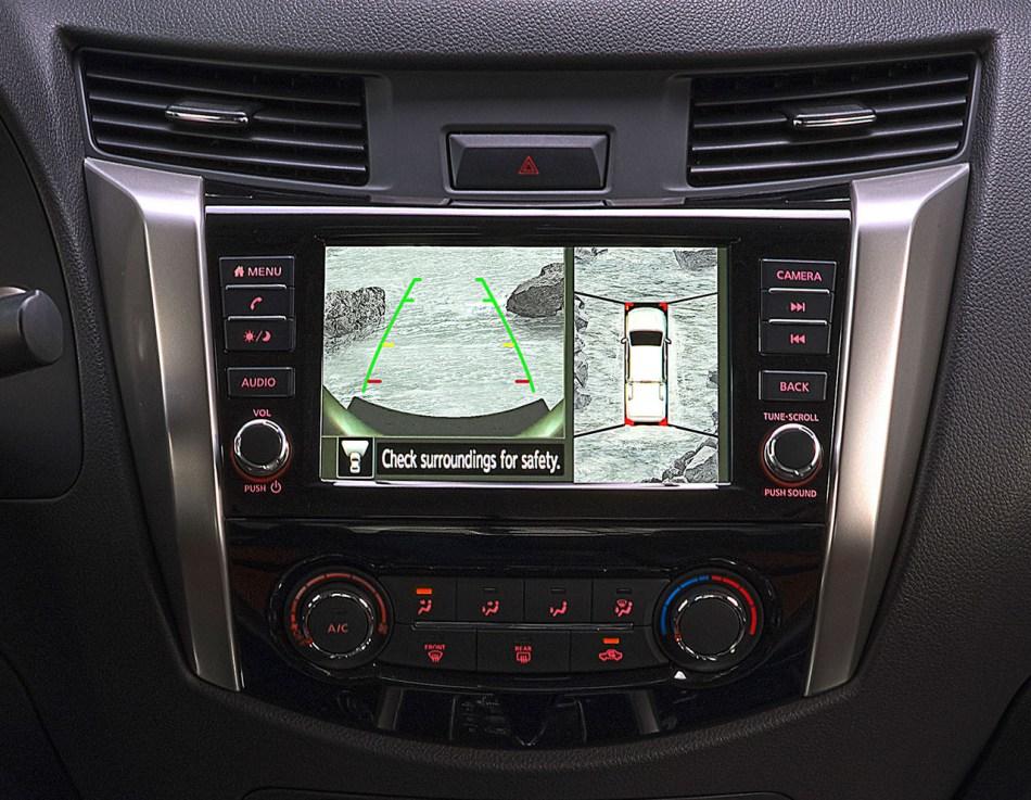 Nissan Navara Advanced Display Audio