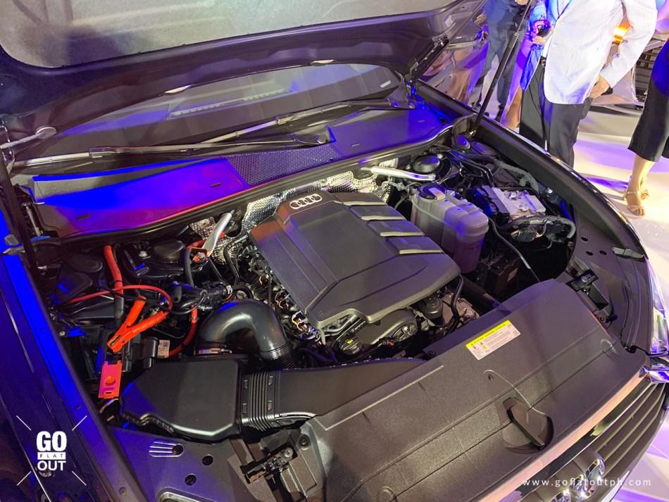 2020 Audi A6 Mild Hybrid Powertrain