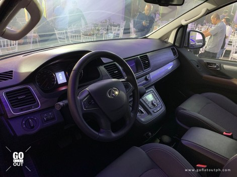 Maxus G10 Assist Interior
