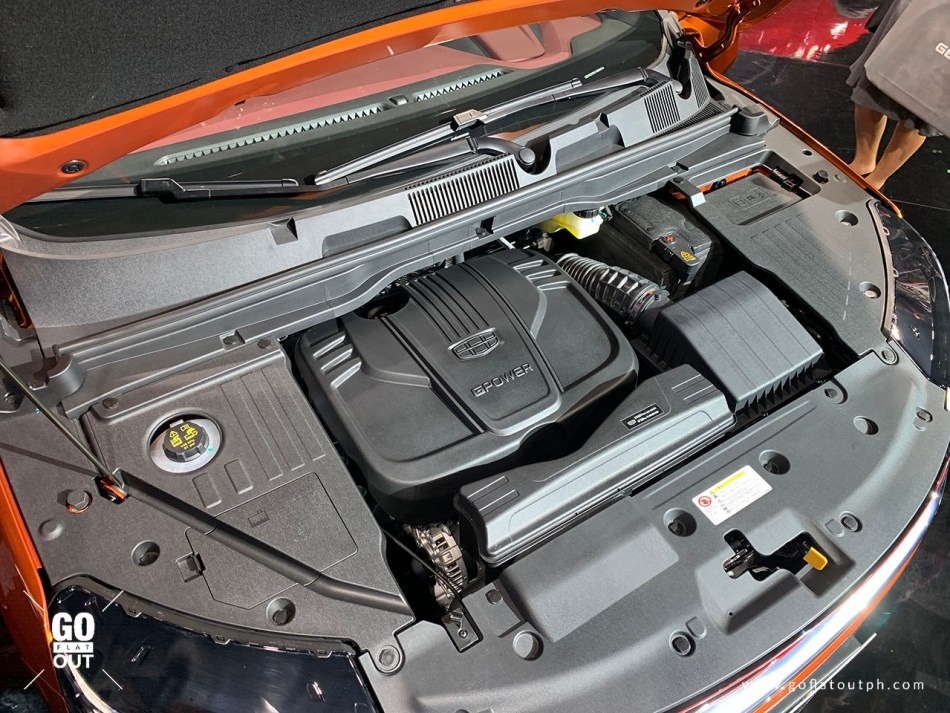 2020 Geely Coolray Engine