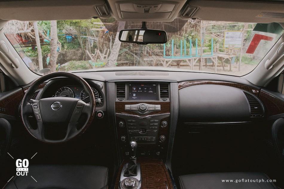 2019 Nissan Patrol Royale Interior