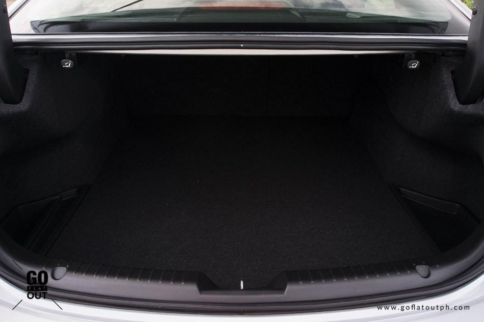 2020 Mazda 6 Sedan 2.2 Diesel Trunk Space