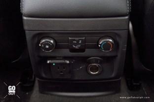 2020 Ford Everest Titanium 4x4 Bi-Turbo Rear Climate Control