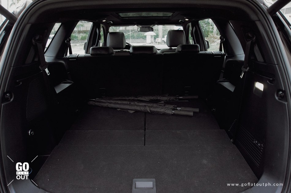 2020 Ford Everest Titanium 4x4 Bi-Turbo Trunk Space