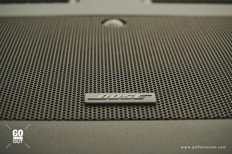 2019 Nissan Patrol Royale 13-speaker Bose sound system
