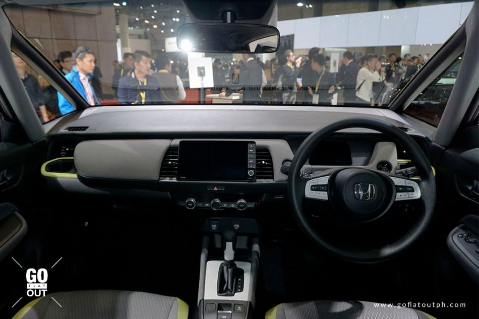 2020 Honda Fit Ness Interior