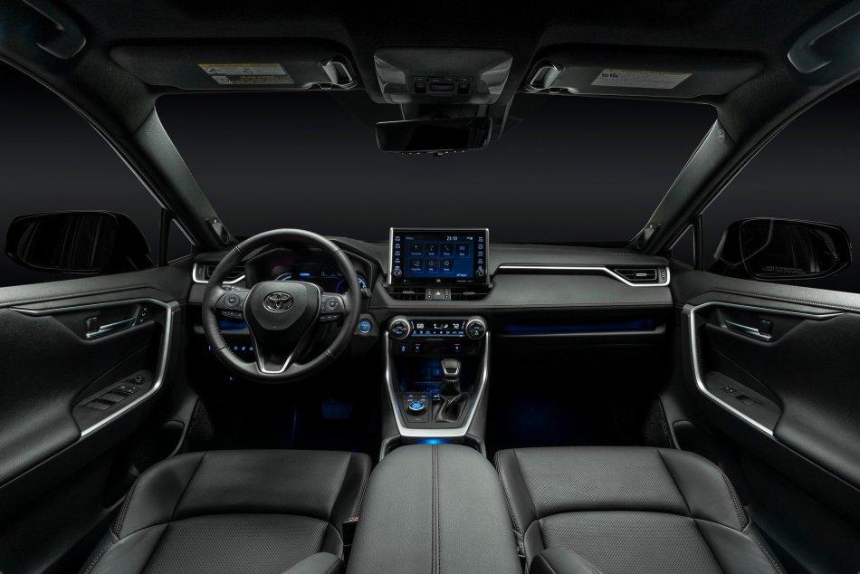 2021 Toyota RAV4 Prime PHEV Interior