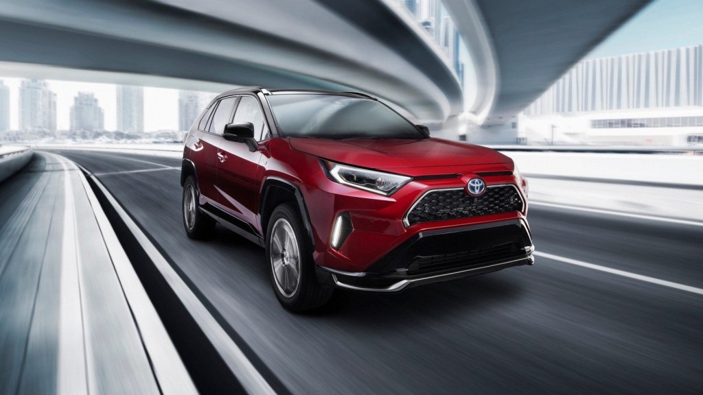 Toyota's Fastest RAV4 Ever Is A Plug-In Hybrid With 302 HP