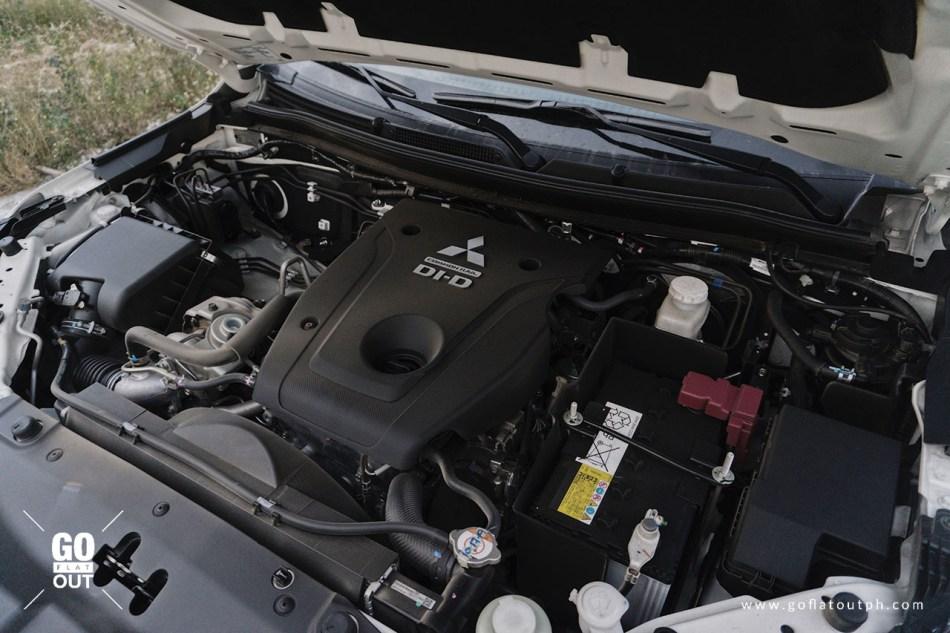 2020 Mitsubishi Montero Sport MIVEC Clean Diesel Engine