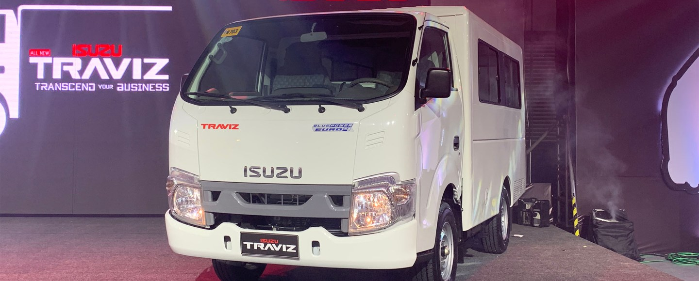 All-New Isuzu Traviz Is Here To Help Your Business Grow, Starts At P962K