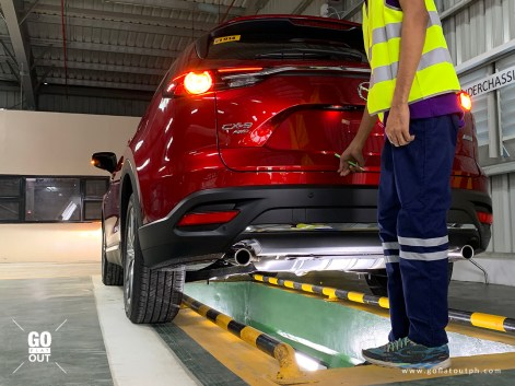 Mazda Center Of Excellence Cabuyao Pre-Delivery Inspection