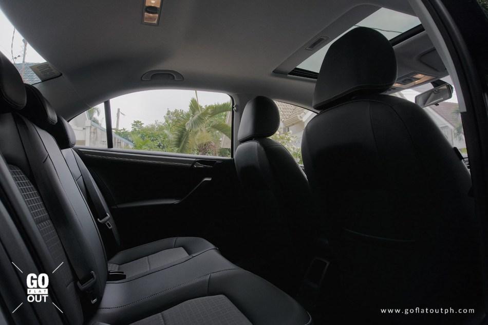 2019 Volkswagen Santana 180 MPI SE Rear Seats