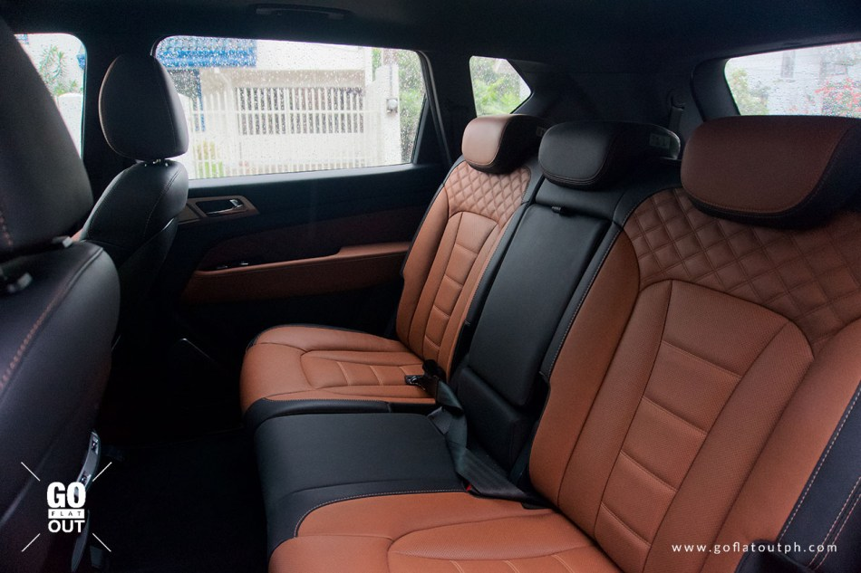 2020 SsangYong Rexton 4x4 Rear Seats
