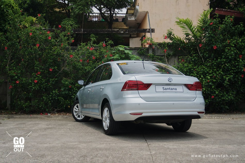 2019 Volkswagen Santana 180 MPI SE Exterior