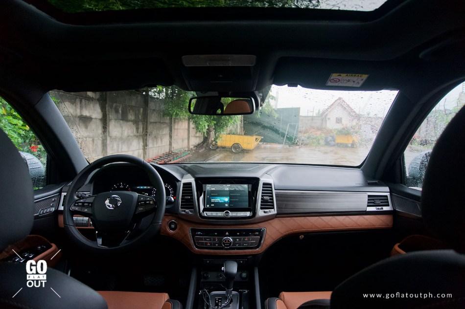 2020 SsangYong Rexton 4x4 Interior