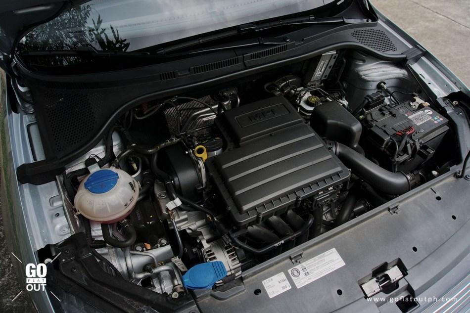 2019 Volkswagen Santana 180 MPI SE Engine