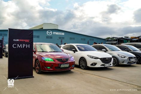 Mazda Car Clubs At The Center of Excellence