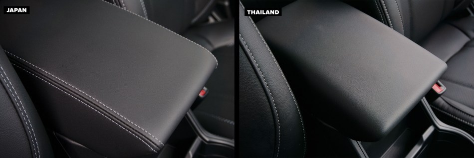 Armrest of Thai-Made and Japan-Made Forester