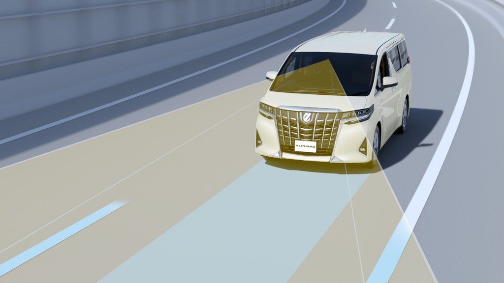 Toyota Safety Sense Now Standard On The PH-Market Alphard