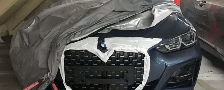 2021 BMW 4 Series' Massive Kidney Grille Leaked Ahead Of Debut