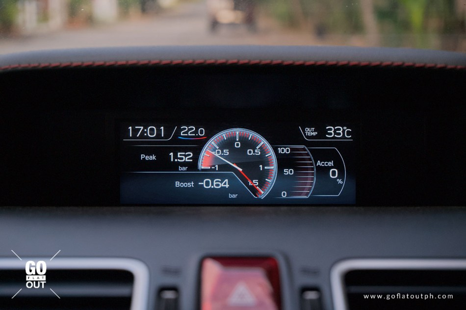 2020 Subaru WRX MT Multi-Info Display