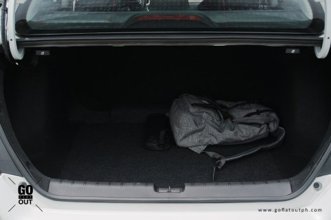 2020 Honda Civic 1.8 E Trunk Space